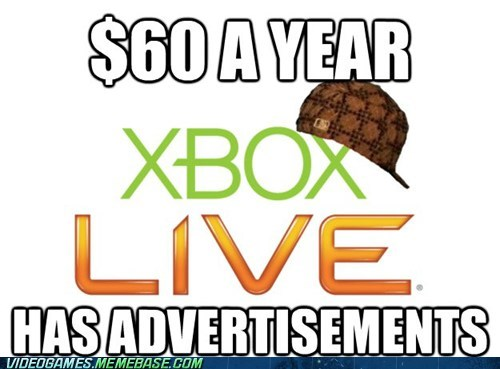 as,pay for ads,subscription,xbox,xbox live