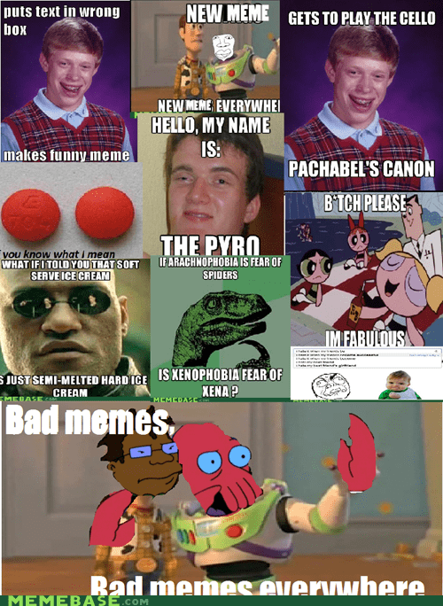 bad memes everywhere meta vote page Zoidberg - 6382596608