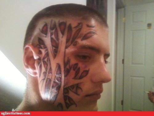 face tattoos fiber tissues muscles - 6382807808