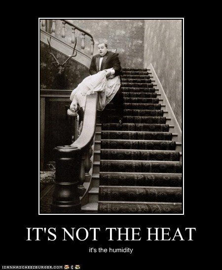faint,Heat,humidity,man,stairs,woman