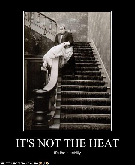 faint Heat humidity man stairs woman - 6382849280