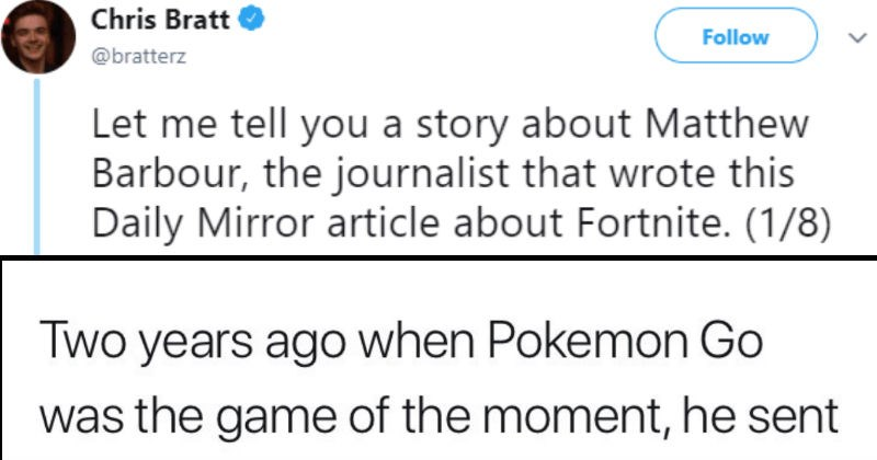 twitter fortnite Video Game Coverage trolling social media ridiculous video games funny - 6382853