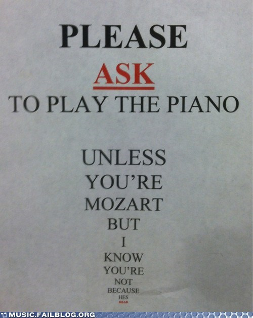 dead mozart piano store - 6383150336
