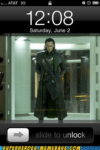 loki,phone,Random Heroics,unlock