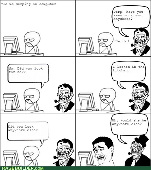 kitchen mom Rage Comics troll dad women - 6383700992