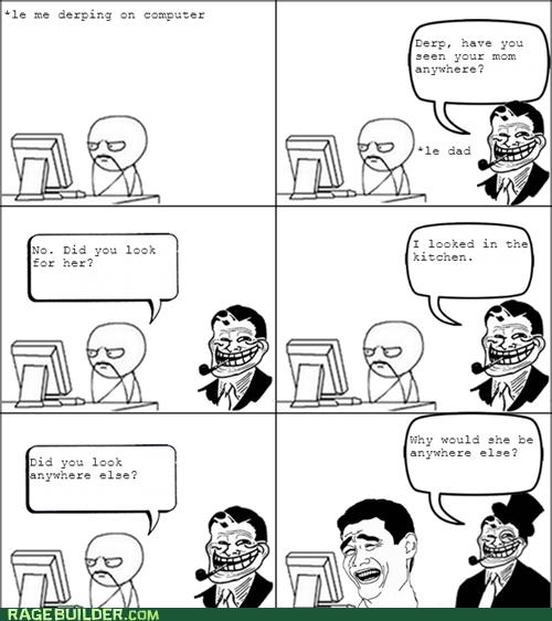 kitchen mom Rage Comics troll dad women - 6383700992
