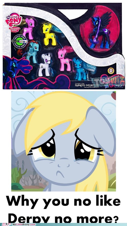 No Love For Derpy Hooves...