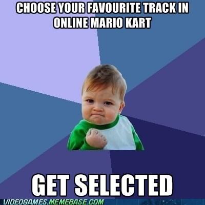 Mario Kart meme online gaming success kid - 6385227520