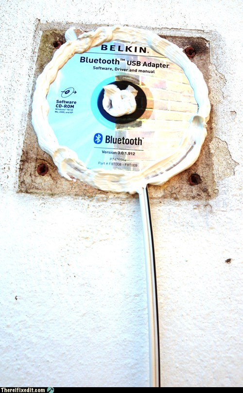 Windows CD delivers solution for walls..........
