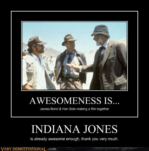 Indiana Jones Pure Awesome Stephen Spielberg