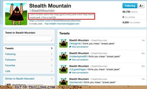 spelling stealth mountain twitter - 6386205952
