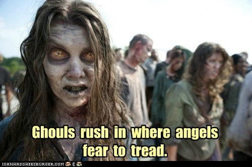 angels ghouls proverb The Walking Dead zombie - 6386261760
