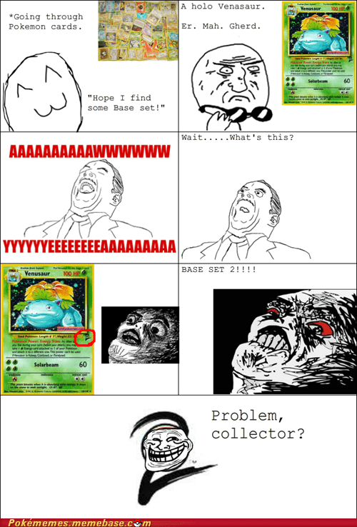base set pokémon card rage comic Rage Comics TCG - 6386405376