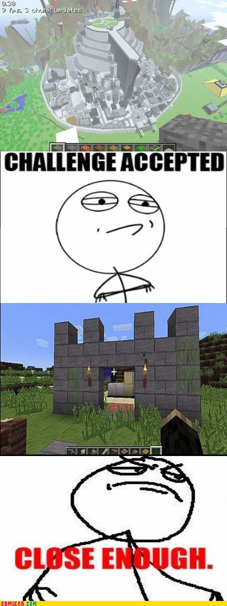 building,Close Enough,minecraft,video games