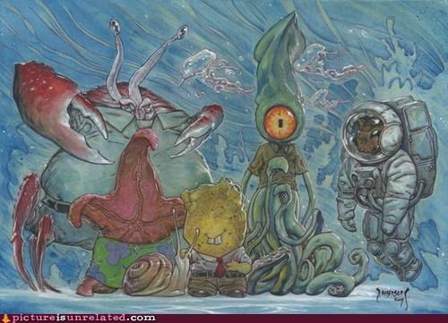 best of week IRL sea creatures SpongeBob SquarePants wtf - 6387150336