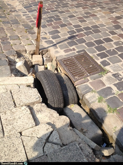 asphalt brick concrete pavement road tire ukraine wheels