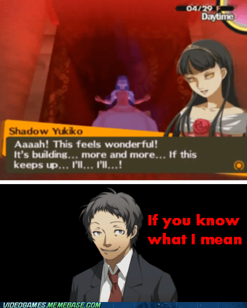 climax if you know what i mean meme persona shadow - 6387183104