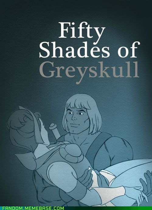 best of week books cartoons crossover Fan Art fifty shades of grey Greyskull he man teela - 6387329024