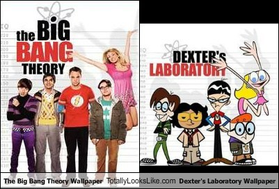The Big Bang Theory Wallpaper Totally Looks Like Dexters