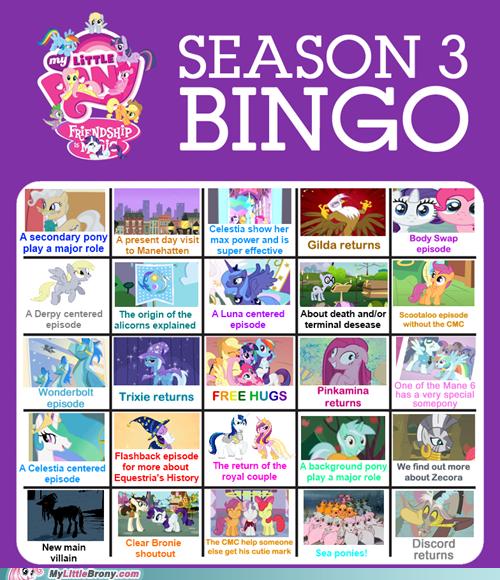 bingo cant-wait my little pony next season season 3 TV - 6388001536