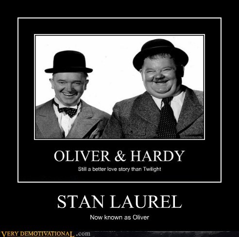 STAN LAUREL Now known as Oliver