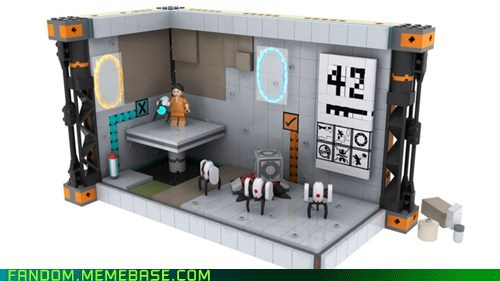 Fan Art lego Portal video games - 6388892160