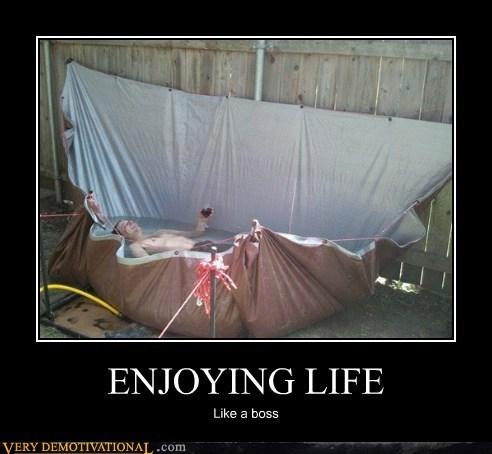 enjoying life Like a Boss Pure Awesome summer time - 6389236736