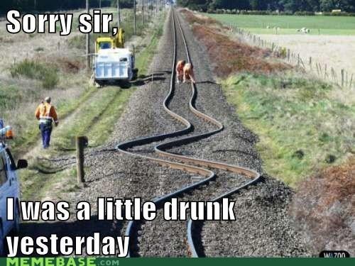 drunk Memes tracks train windy - 6389298944