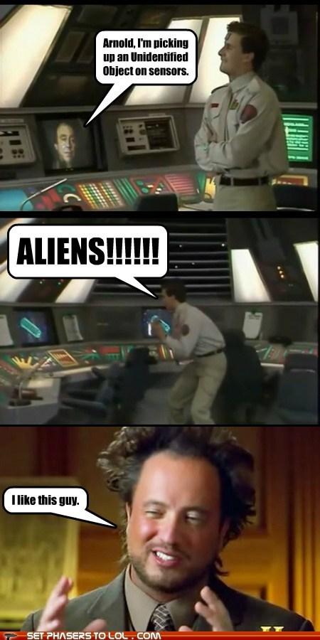 alien ancient aliens arnold rimmer chris barrie Giorgio A Tsoukalos red dwarf - 6389361664