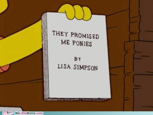 lisa ponies the simpsons they promised me ponies TV - 6389443072