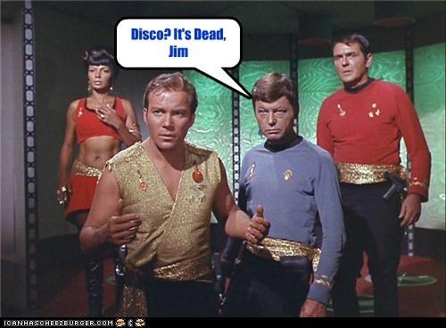 Captain Kirk DeForest Kelley disco its-dead james doohan McCoy move on Nichelle Nichols scotty Shatnerday Star Trek uhura William Shatner - 6389672704