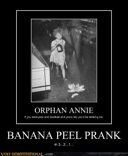 BANANA PEEL PRANK in 3...2...1...
