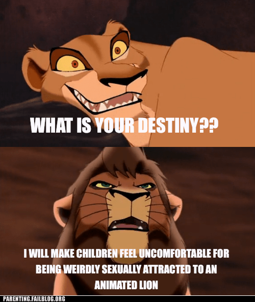cartoons,lion king,sexual attraction