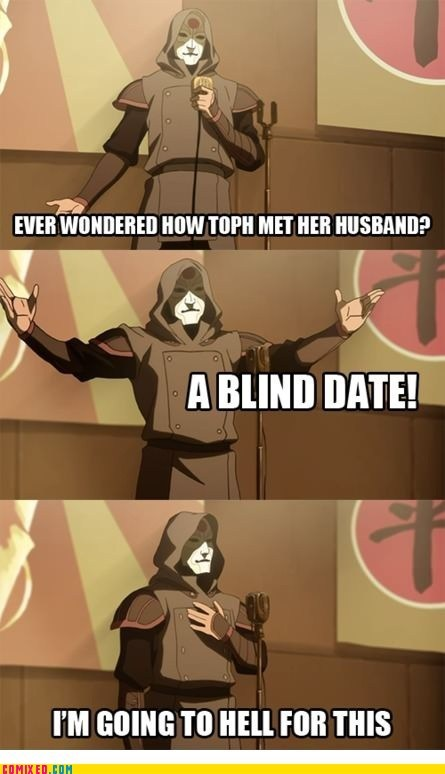 Avatar best of week blind date cartoons toph TV