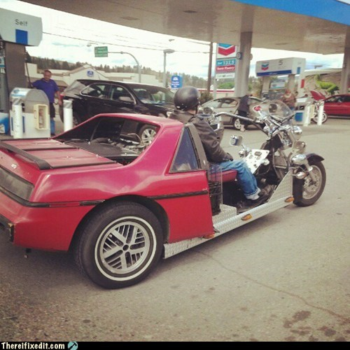 half car half bike motorcycle - 6390615808