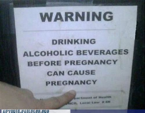 pregnancy,warning