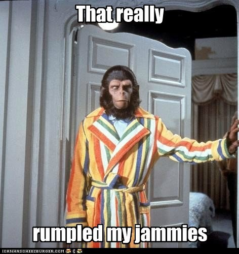 funny meme Movie Planet of the Apes rustled my jimmies - 6390641408