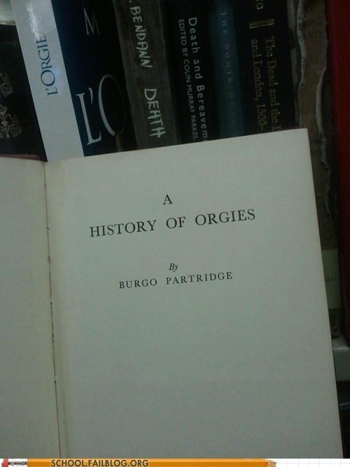 bargain books,history,history of orgies
