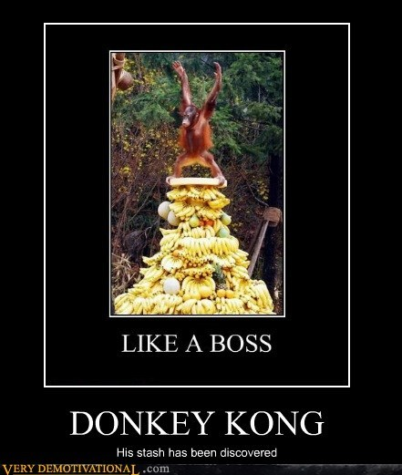 bananas,donkey kong,Pure Awesome,stash