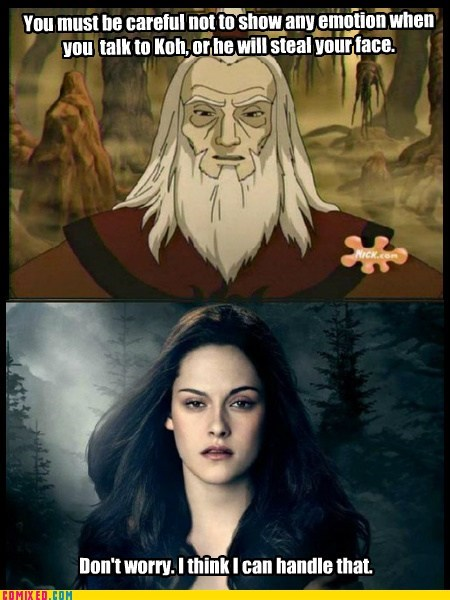 Avatar cartoons feels kristen stewart TV - 6390829312