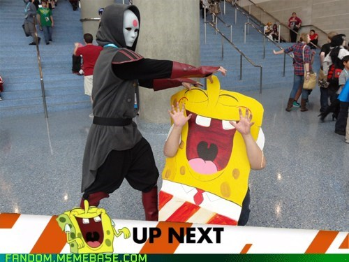 amon,cartoons,cosplay,inappropriate timing spon,inappropriate timing spongebob,SpongeBob SquarePants