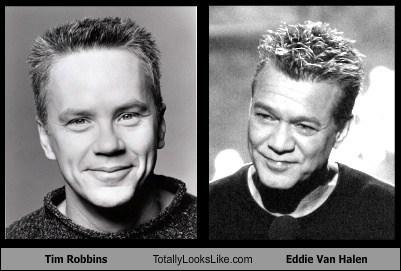 actor celeb Eddie Van Halen funny Music rock tim robbins TLL