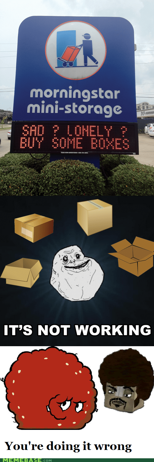 box forever alone meatwad - 6390935552