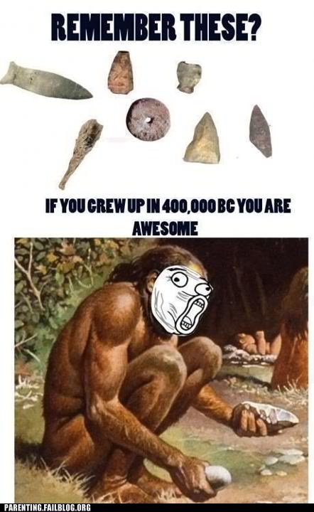 Caveman nostalgia stone tools - 6390971904