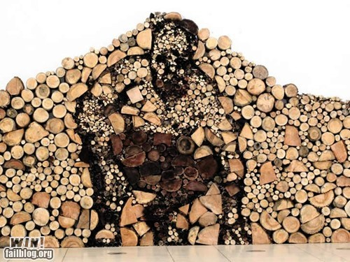 image pile wood - 6391021568