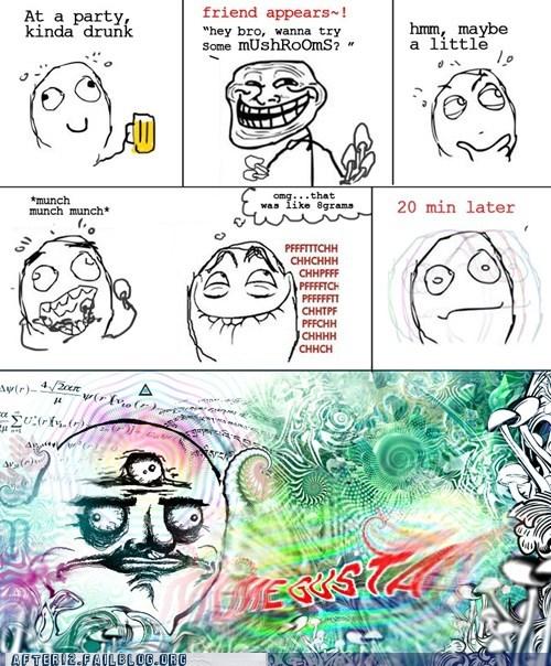acid hallucinating lsd me gusta rage comic tripping balls trolling - 6391071488