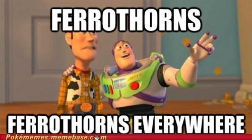 competitive battling ferrothorn meme Memes spikes toxic spikes - 6391077376