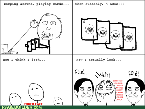 cards pfftch poker face Rage Comics - 6391101184