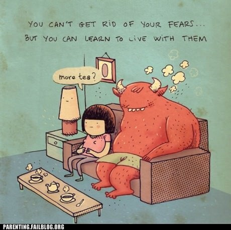 couch,face your fears,tea