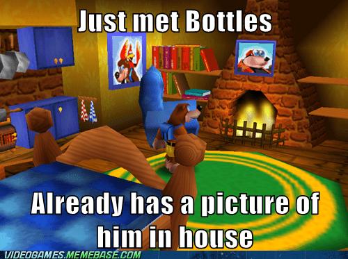 banjo kazooie bottles meme picture - 6391203840